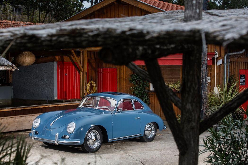Porsche 356A 1600 Super Coupe by Reutter (T2) 1957 1959 cars classic wallpaper