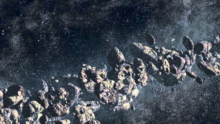 cinturon asteroides universo naturaleza espacio wallpaper
