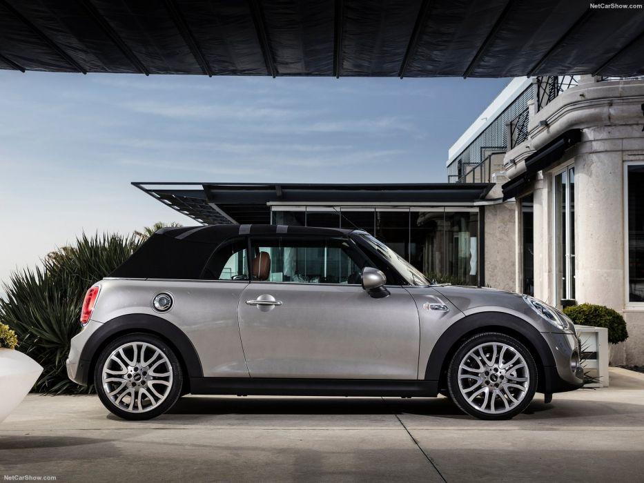 Mini cooper s Open 150 Convertible Edition cars 2016 wallpaper