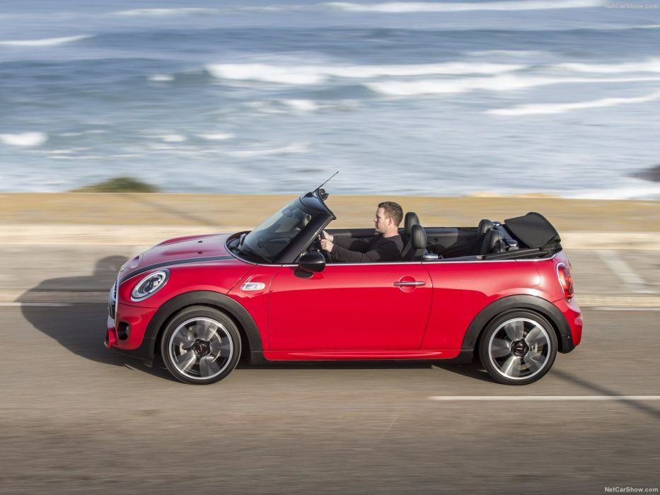 Mini cooper S Convertible UK-Version RED cars 2016 wallpaper