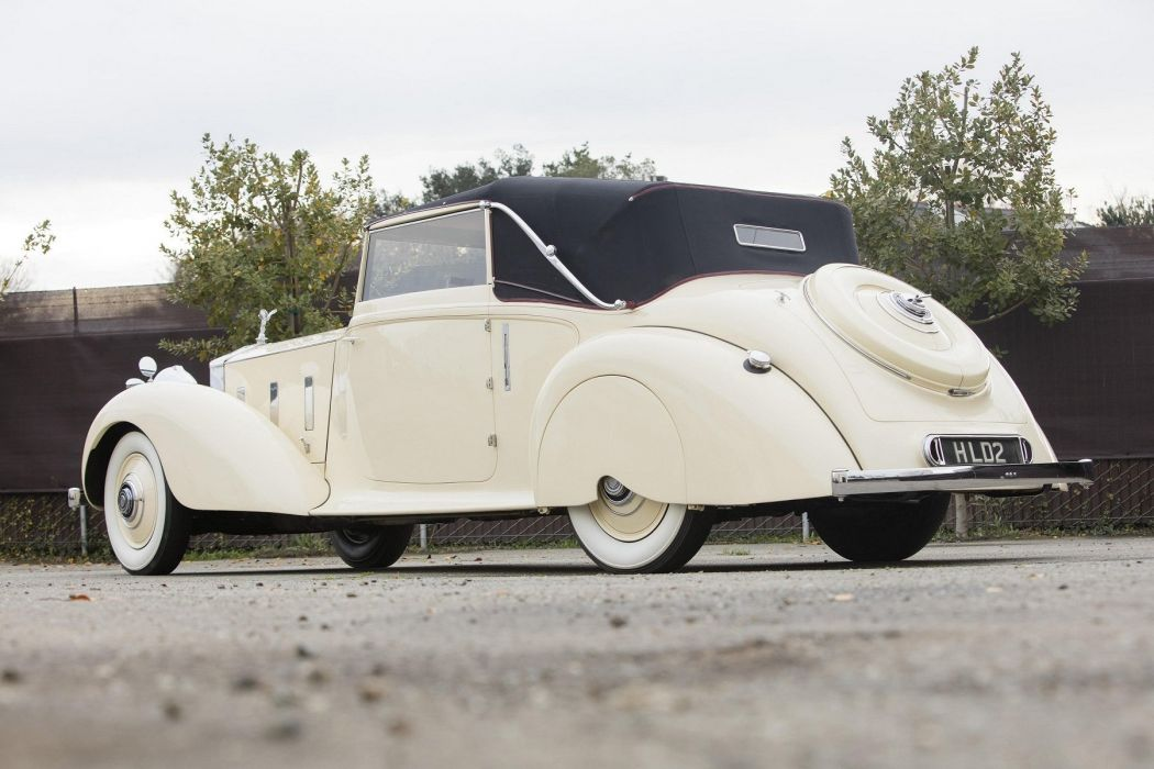 Rolls Royce Phantom II Drophead Coupe cars classic 1935 wallpaper