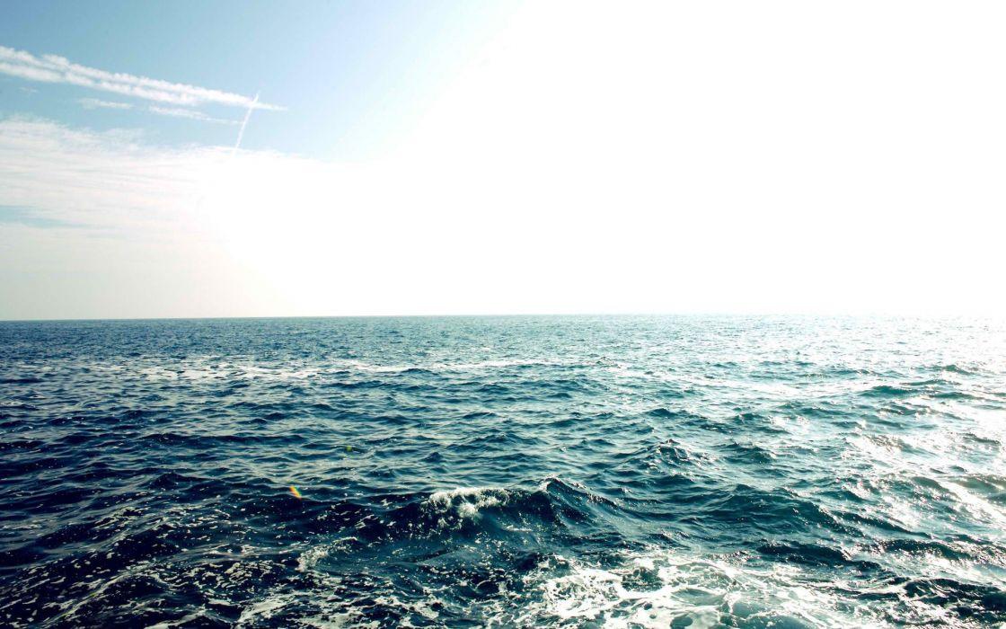 oceano oleaje agua naturaleza wallpaper