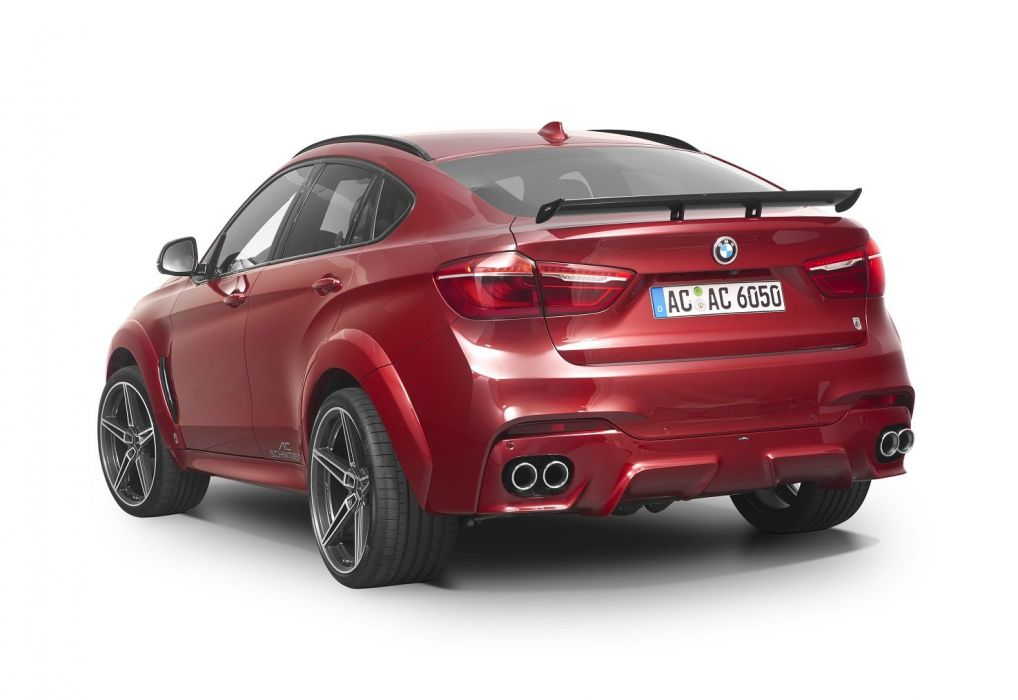 AC Schnitzer bmw ACS6 Falcon (F16) cars suv red modified 2015 wallpaper