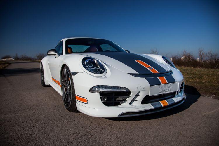 TechArt Porsche 911 Carrera 4 Coupe (991) cars modified 2013 wallpaper