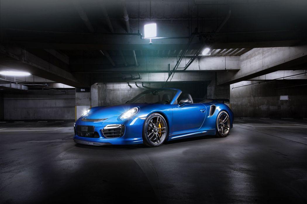 TechArt Porsche 911 turbo cabriolet (991) cars modified 2013 wallpaper