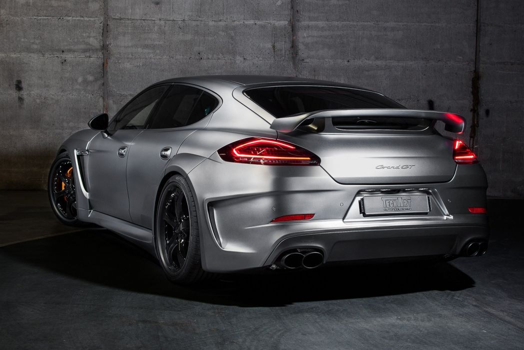 TechArt Porsche Panamera Grand GT (970) cars modified 2013 wallpaper
