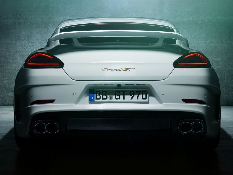 TechArt Porsche Panamera Grand GT (970) cars modified 2013 wallpaper