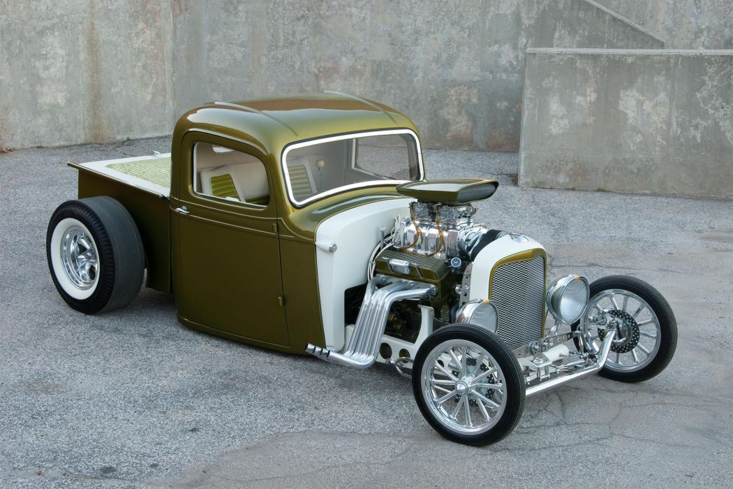 1937 Chevy pickup cars modified wallpaper