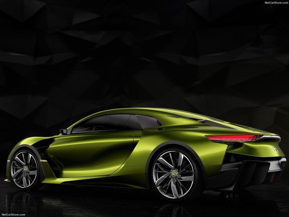 DS E-Tense Concept cars electric 2016 wallpaper