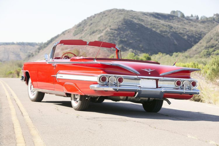 1960 Chevrolet Impala 348 335 HP Special Turbo-Thrust Convertible cars classic 1960 wallpaper