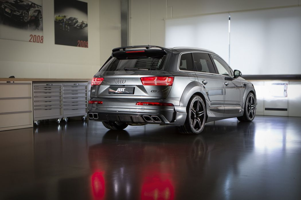 ABT AUDI QS7 (4M) cars suv modified 2016 wallpaper