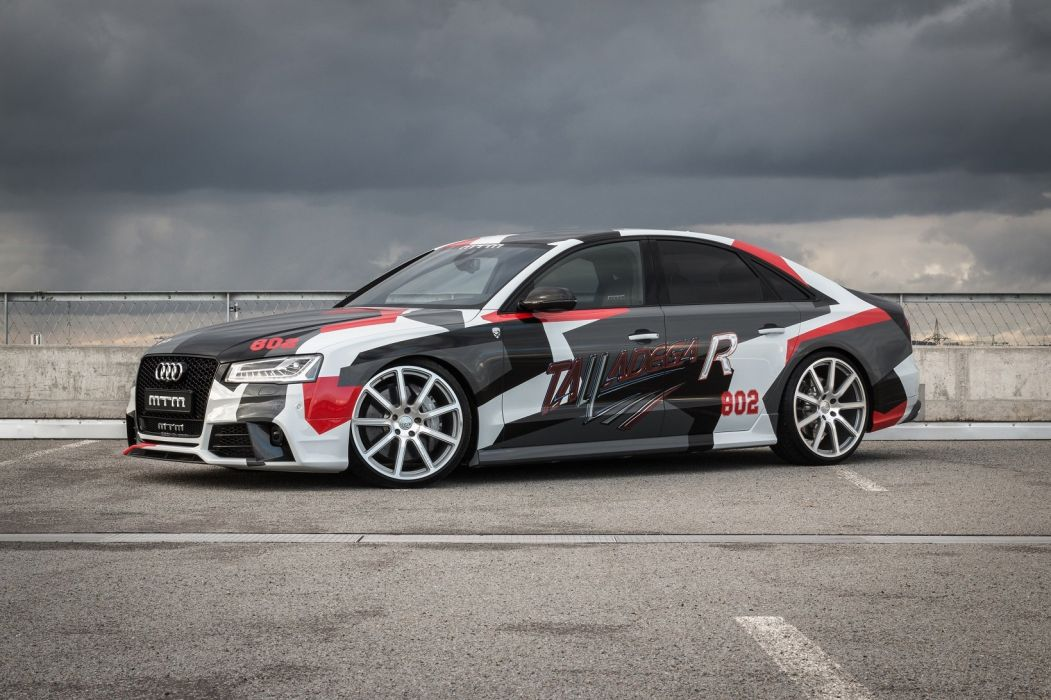 MTM Audi S8 Talladega R cars modified 2016 wallpaper