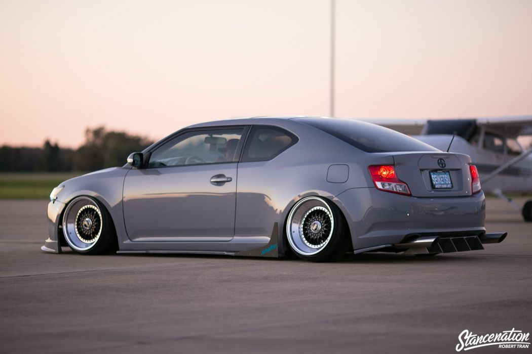 Scion tc coupe cars modified wallpaper