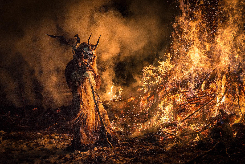 Krampus monster demon evil horror dark occult christmas - Krampus wallpaper ...
