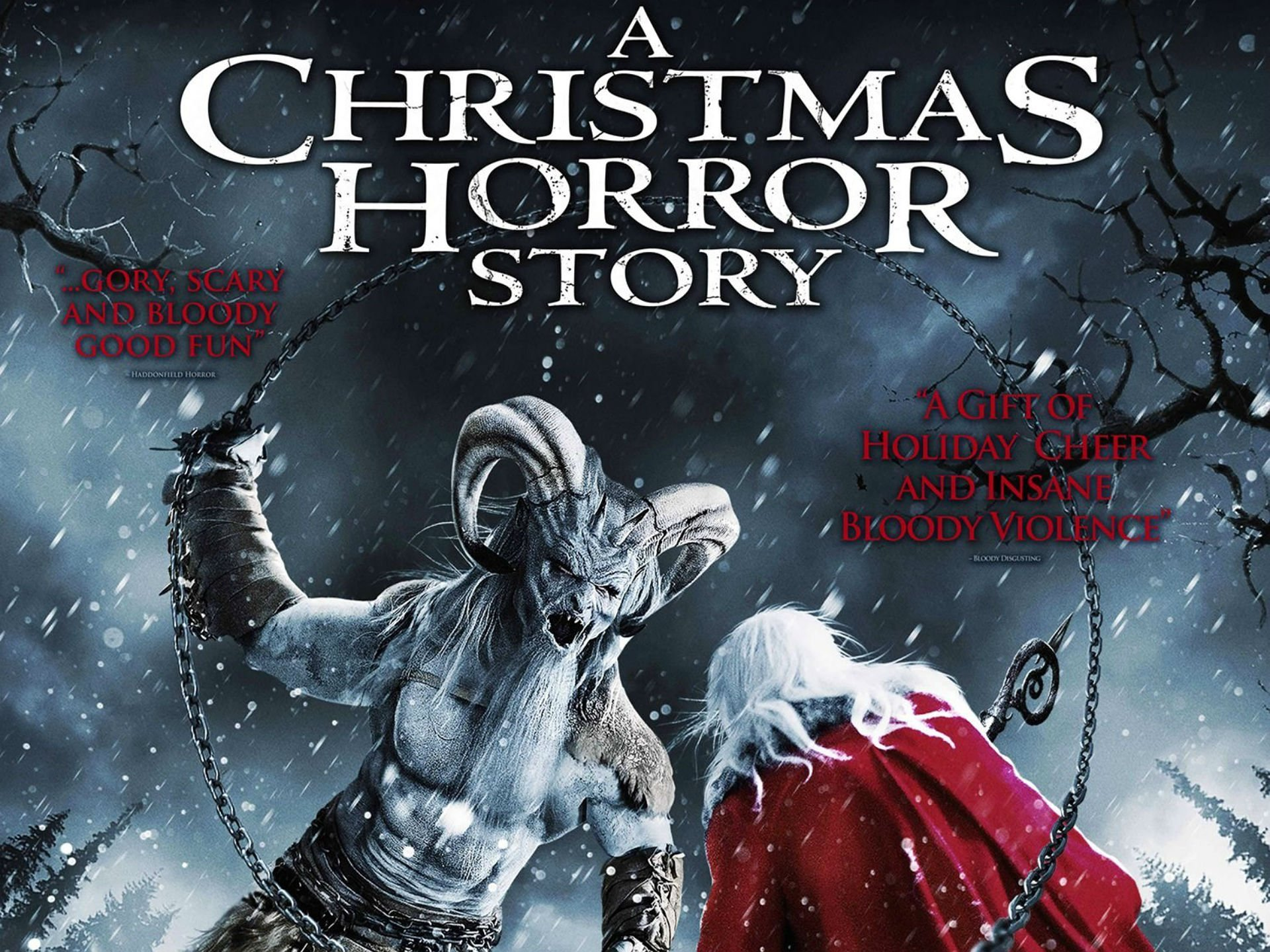 KRAMPUS monster demon evil horror dark occult christmas story ...