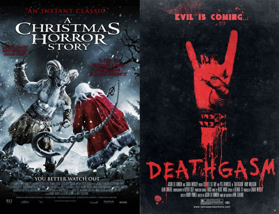 KRAMPUS monster demon evil horror dark occult christmas story poster wallpaper