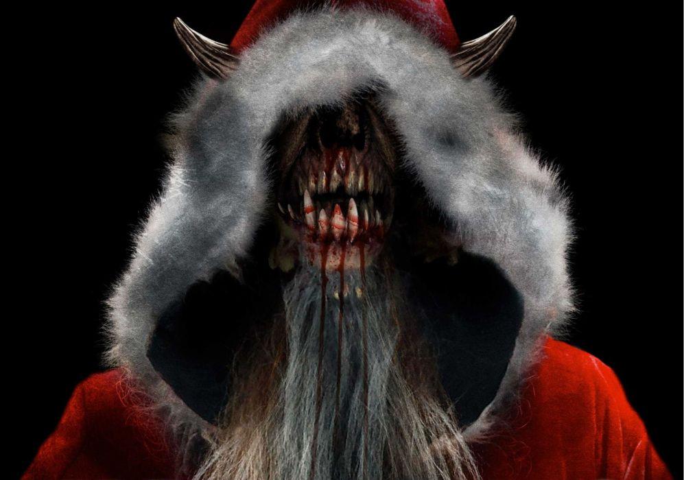 Krampus Monster Demon Evil Horror Dark Occult Christmas Story