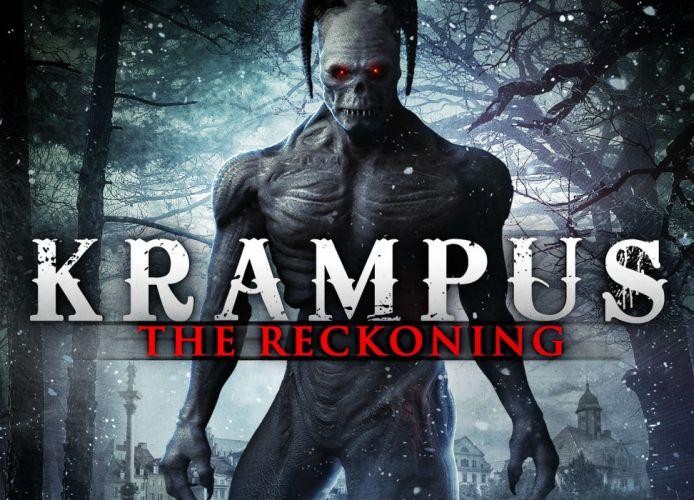 KRAMPUS monster demon evil horror dark occult christmas story poster wallpaper