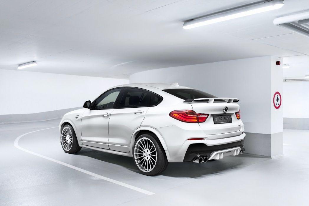 Hamann BMW X4 (F26) cars suv white modified 2016 wallpaper