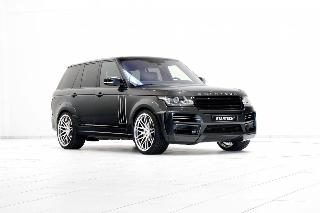 Startech Range Rover Sport cars black modified 2015 wallpaper