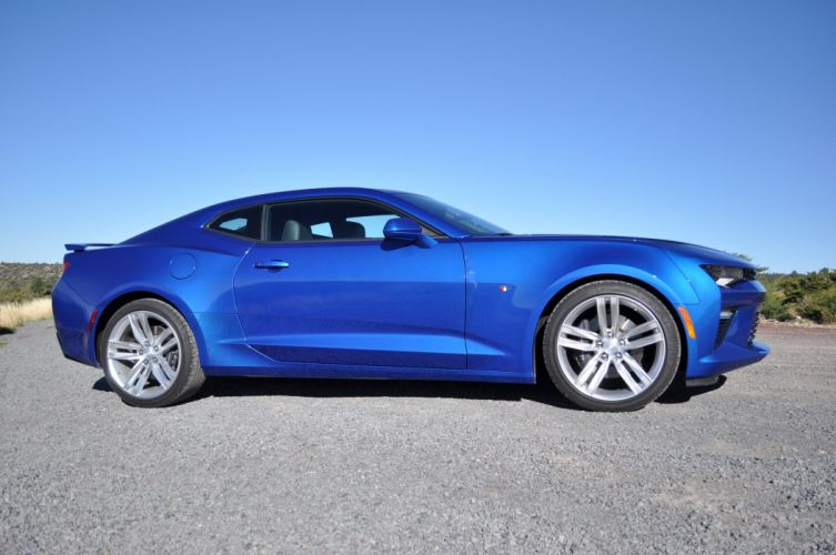 2016 Chevy Camaro SS coupe cars blue wallpaper