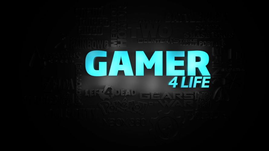 GAMING game video computer gamer poster wallpaper