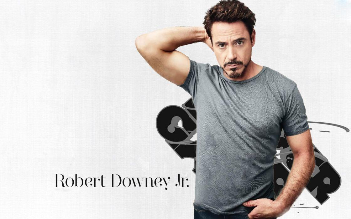 robert downey actor americano celebridad wallpaper