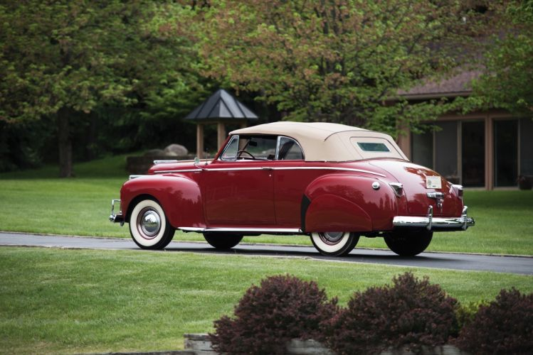 1941 Chrysler Windsor Highlander Convertible Coupe cars classic wallpaper