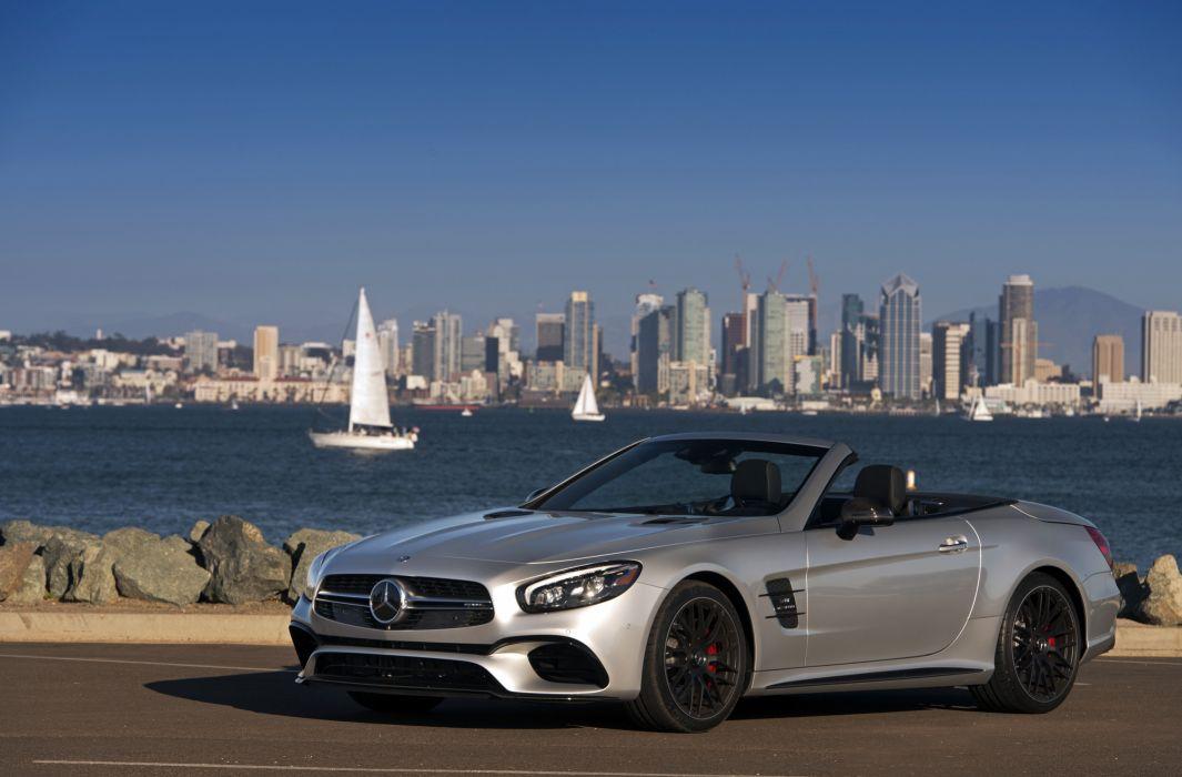2016 Mercedes AMG SL63 US-spec (R231) cars convertible wallpaper