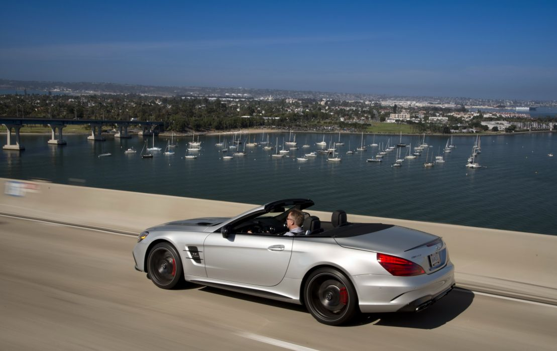 2016 Mercedes AMG SL63 US-spec (R231) cars convertible wallpaper