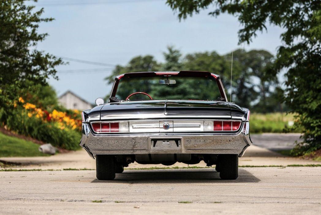 1965 Chrysler 300L Convertible black cars convertible wallpaper