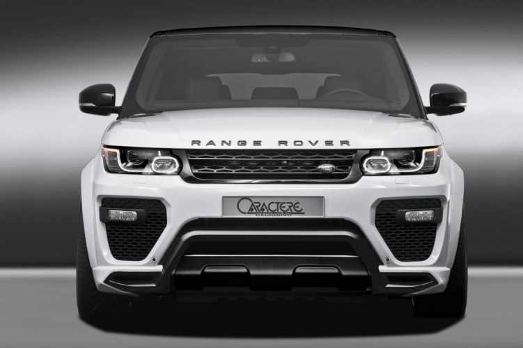 Caractere Exclusive Range Rover cars suv modified 2016 wallpaper