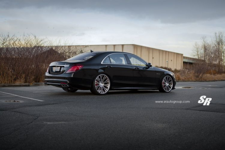 Mercedes S-class cars coupe black PUR wheels wallpaper