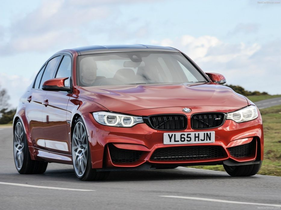 BMW M3 Competition Package sedan cars 2016 wallpaper