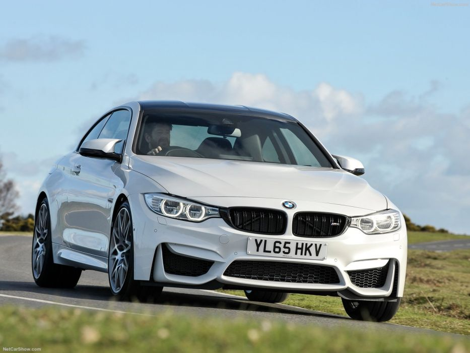 BMW M4 Competition Package coupe white cars 2016 wallpaper