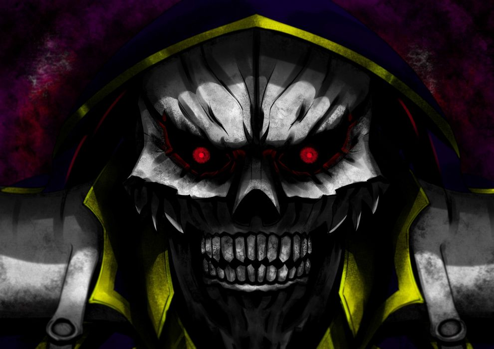 anime series male Ainz Ooal Gown overlord characters wallpaper