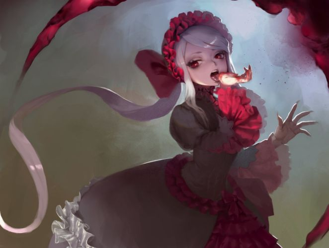 anime series girl long hair overlord characters Shalltear Bloodfallen wallpaper