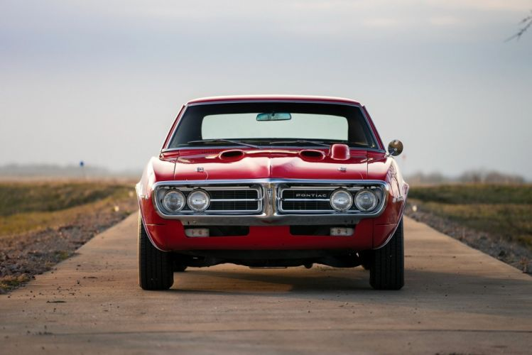 1967 Pontiac Firebird 400 cars red coupe classic wallpaper