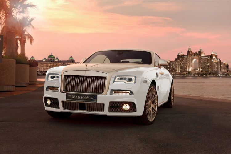 Mansory Rolls Royce Wraith modified Palm Edition 999 '2016 cars 2016 wallpaper