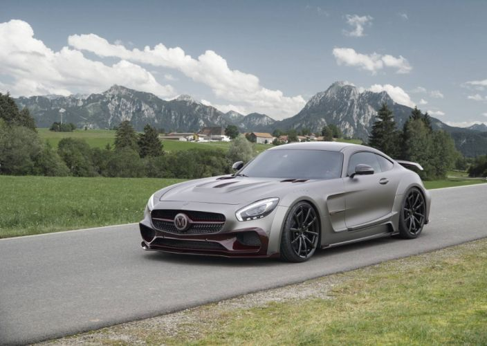 Mansory Mercedes AMG GTS cars modified 2016 wallpaper