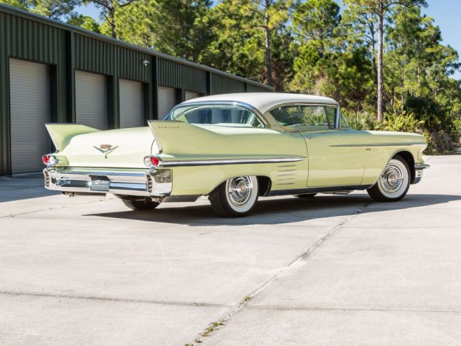 1958 Cadillac Sixty-Two Coupe de Ville classic cars wallpaper
