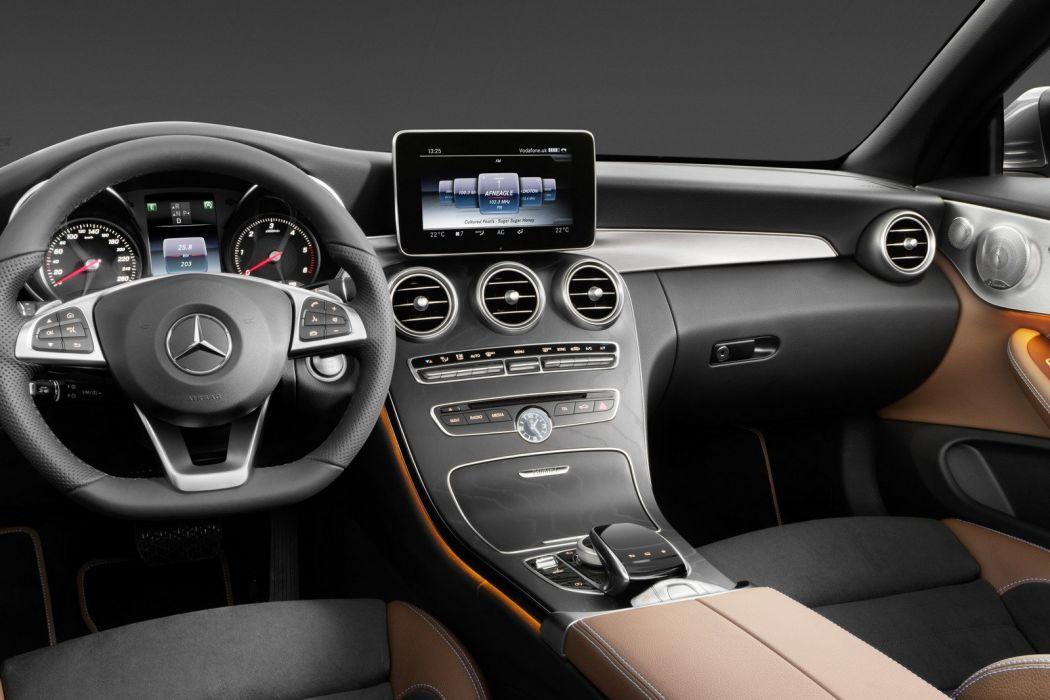 Mercedes C-Class Cabriolet cars 2016 wallpaper
