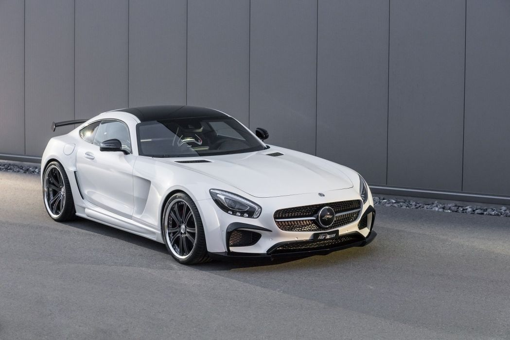 FAB Design Mercedes AMG GTS cars Areion (C190) cars modified white 2016 wallpaper