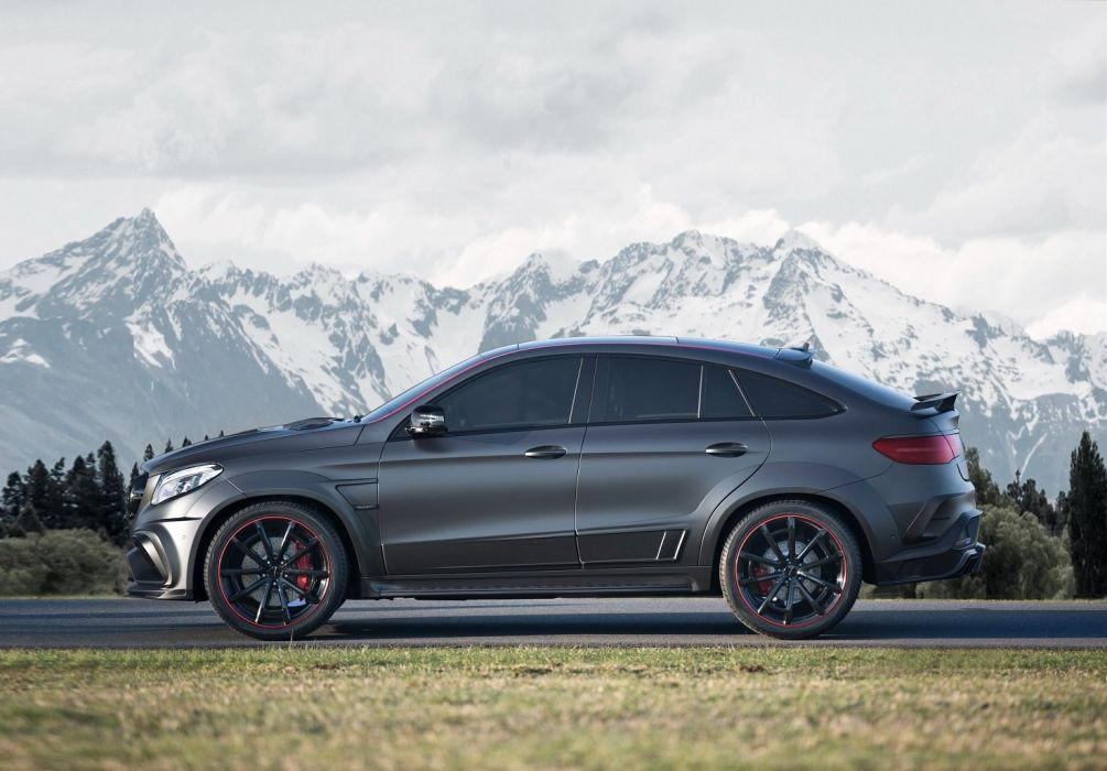 Mansory Mercedes AMG GLE 63 4MATIC Coupe (C292) cars suv modified black 2016 wallpaper