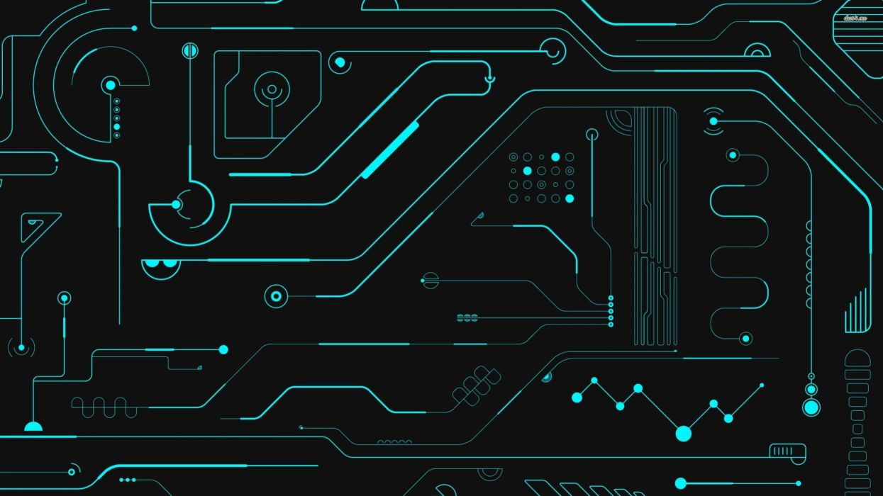 ELECTRONICS machine technology circuit electronic computer technics detail psychedelic abstract pattern wallpaper
