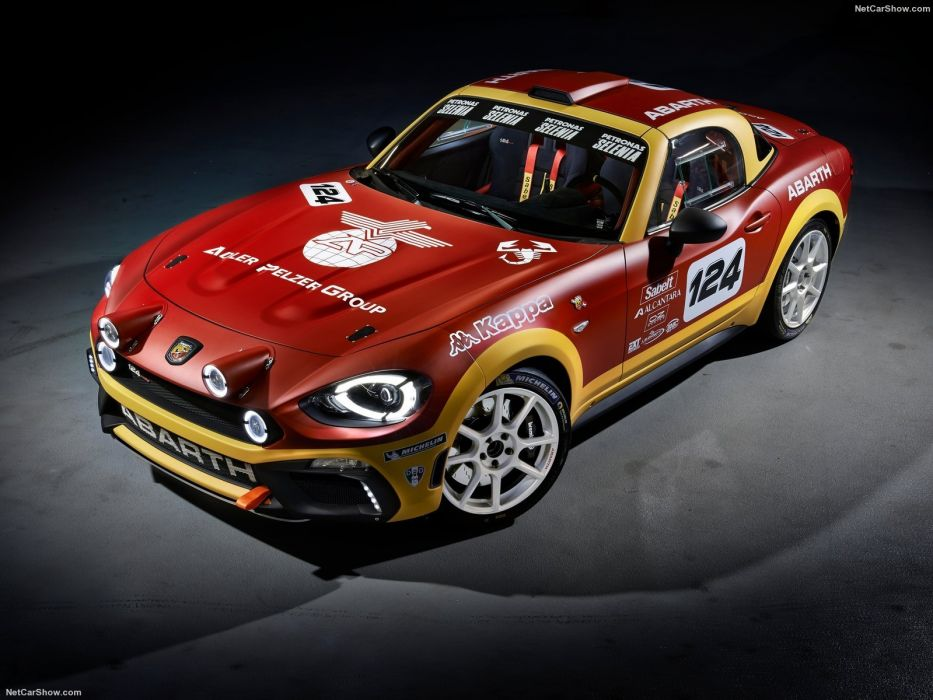 Fiat 124 rally Abarth cars 2016 wallpaper