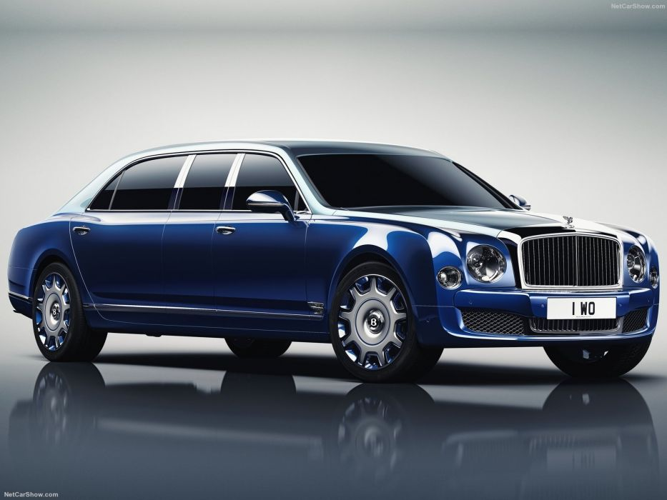 Bentley Mulsanne Grand Limousine by Mulliner cars 2016 wallpaper