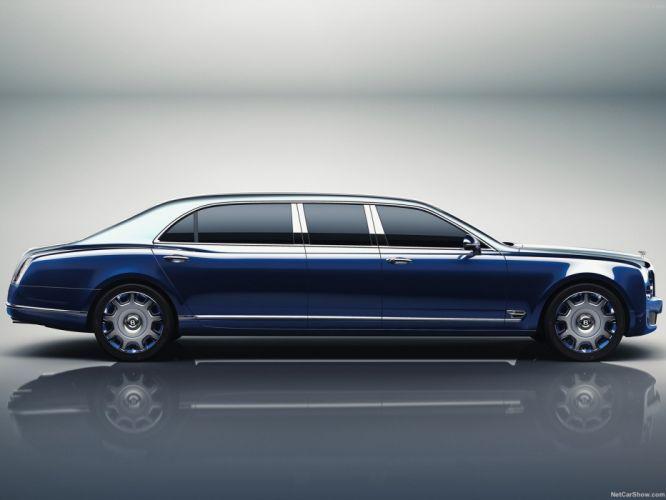 Bentley Mulsanne Grand Limousine by Mulliner cars 2016 wallpaper
