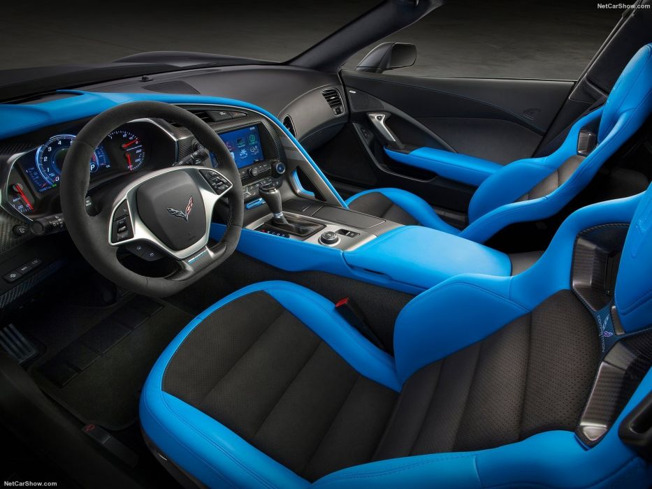 Chevrolet Corvette Grand Sport (c7) coupe cars black 2016 wallpaper