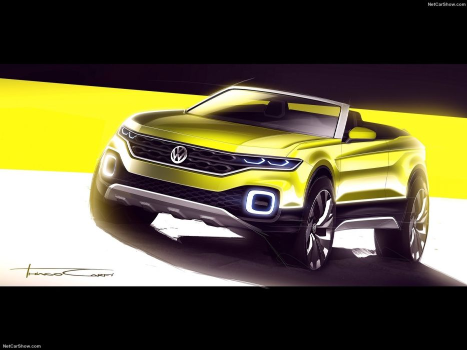 Volkswagen T-Cross Breeze Concept cars 2016 wallpaper